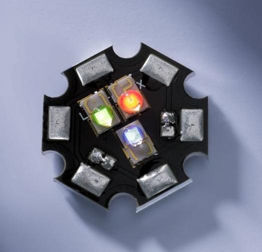 RGB-Rebel-Power-LED, max. Lichtstrom 257 lm
