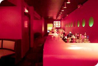 RGB-Beleuchtung in einem Coburger Szene-Club