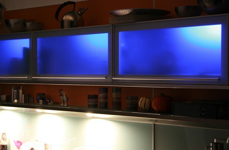 Beleuchtung von Küchenschränken