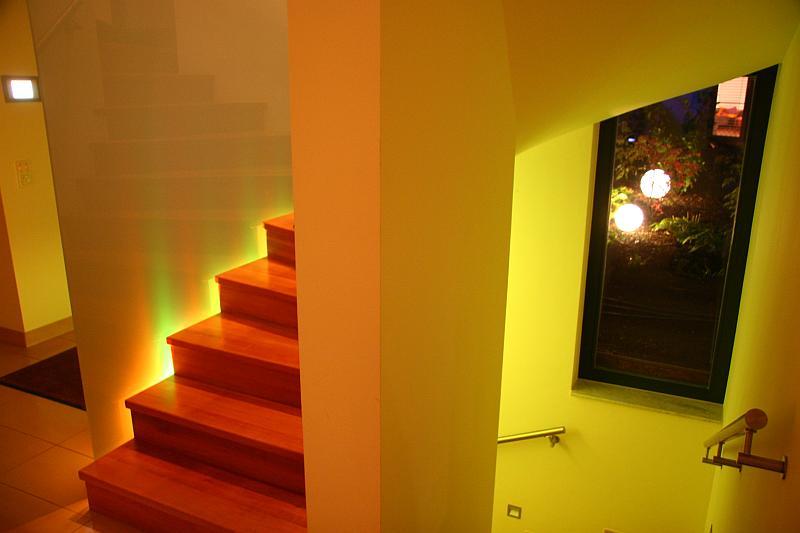 Beleuchtung eines Raumteilers
