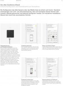 Gira eNet-Konfiguration per Smartphone Foto: Gira Giersiepen GmbH & Co. KG