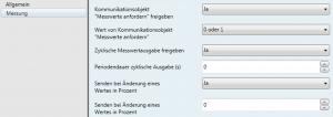 Ausschnitt der Parametrierungsmöglichkeiten des Enertex KNX PowerSupply 960 in der ETS. Foto: Enertex Bayern GmbH