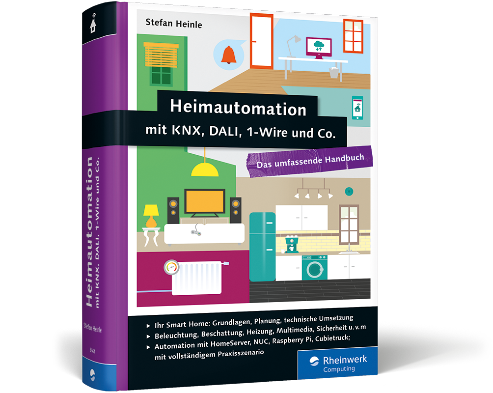neues handbuch heimautomation mit knx dali 1 wire und co. Black Bedroom Furniture Sets. Home Design Ideas