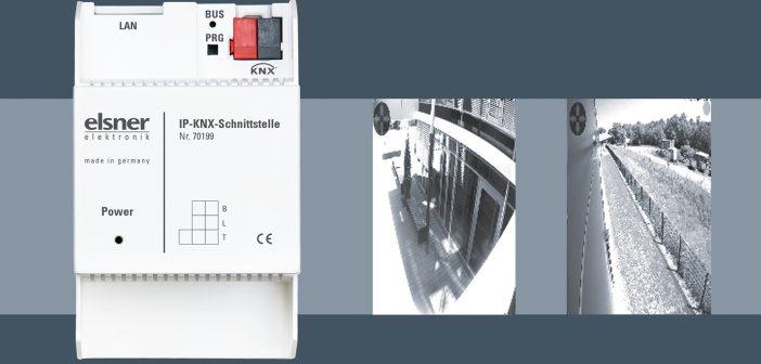 Elsner IP-KNX-Schnittstelle für Kameras