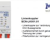MDT Linienkoppler SCN-LK001.01 mit Schutz vor Zugriff über die Außenlinie