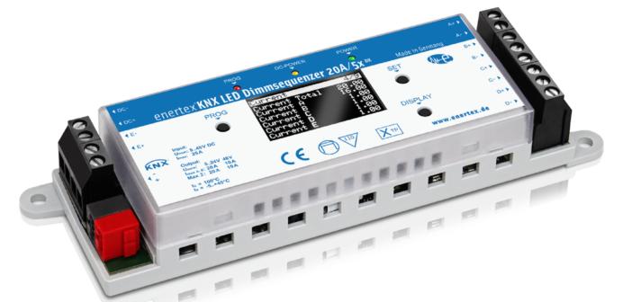 Enertex® KNX Dimmsequenzer 20A/5x